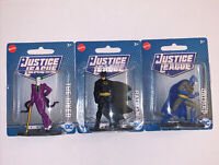 Lot Of 3 Mini Mattel DC Justice League Action Figures Batman Joker