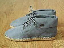 Rocket Dog Tepee Ladies Espadrille Ankle Boots Dusty Blue Size 4 / 37