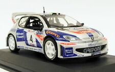 Altaya 1/43 Scale AL31319C - Peugeot 206 WRC - Mille Miglia Rally 2003