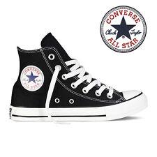 Mens Converse Chuck Taylor All Star High Top Canvas Fashion Sneaker Black All SZ