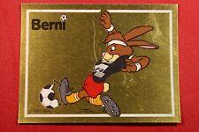 PANINI EURO 88 # 41 MASCOTTE BERNI NEW WITH ORIGINAL BACK!!