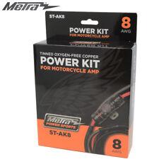 8AWG Powersports AmpOFC Power Wiring Kit for Motorcycle ATV/UTV RZR SXS Marine