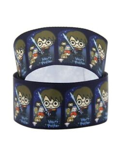 By The Yard Printed 7/8 Inch Harry Potter Grosgrain Ribbon Lisa
