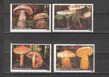 New listing Mtc0237 Guyana 1988 4v plants mushrooms