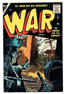 War Comics #47 (1950 Series) Atlas Comics May 1957 VG/FN