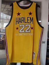 Platinum Fubu Harlem Globetrotters Curly Neal #22 Yellow Jersey Size 4X