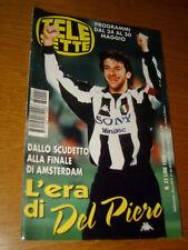 TELESETTE 1998/21=ALEX DEL PIERO=JEFF BUCKLEY=TRACEY BREGMAN=PAMELA ANDERSON=