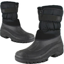 MENS SNOW WINTER MUCKER WELLINGTON BOOTS WARM THERMAL LINED OUTDOOR SKI SHOES SZ