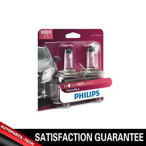 9003 Philips 2PCS Headlight Light Bulb Hi/Lo Beam Kit For 1996-98 Acura RL