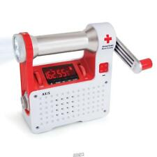 Eton American Red Cross Emergency Weather Alert Radio Flashlight Self Powers Usb