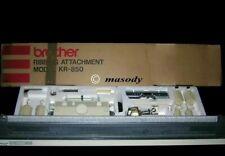 Brother knitting machine Ribbing Attachment KR 850 for KH 891 940 950i 965i 970