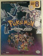 BOOK - Pokemon Diamond & Pearl Official Scenario Guide Volume 1 DS PB Book 2007