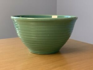 Vintage Bauer Pottery Ringware Mixing Bowl No. 12 - Green, Marked