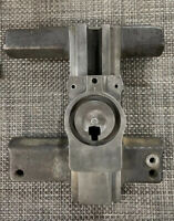 """South Bend Lathe 9"""" Early Junior Cross Slide Casting & # Matched Lower Swivel"""