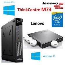 Lenovo ThinkCentre M73 Tiny PC - WINDOWS 10 PRO