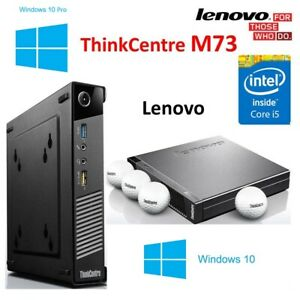 Lenovo ThinkCentre M73 Tiny PC - WINDOWS 10 PRO
