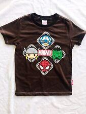 Marvel size S 3 4 5 Hulk Spiderman Captain America Thor Avengers boys shirt top