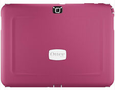 OTTERBOX Defender Case Suits Samsung Tab 4 10.1 - White / Peony Pink