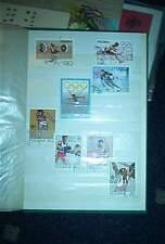 8 Stück Briefmarken-Olympiade-Polen