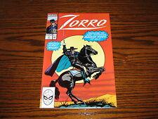 Marvel Comics - ZORRO #1 Issue Comic!!  1990 Glossy VF/VF+