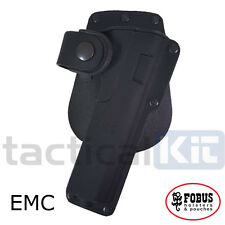 New Fobus Colt 1911 Tactical Light Laser Bearing BELT HOLSTER EMC Holster