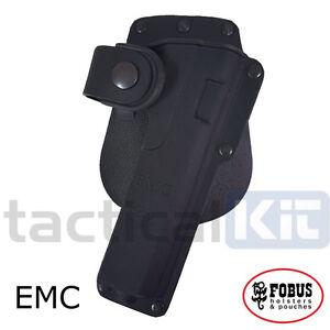 New Fobus Colt 1911 Tactical Light Laser Bearing BELT HOLSTER EMC Holster