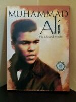 ORIGINAL VIDEO DVD Muhammad Ali Cassius Clay HIS LIFE AND WORDS RARE COLLECTIBLE