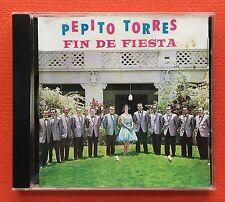 Pepito Torres Y Su Orquesto Siboney Fin De Fiesta Mambo And Soul CD Puerto Rico