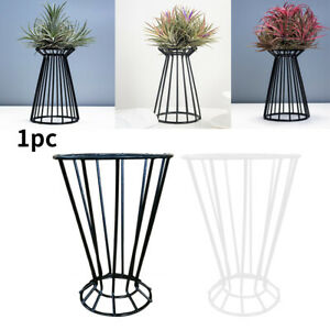Table Containers Indoor Outdoor Flower Pots Home Garden Air Plant Holder Display