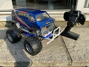 Tamiya Blue Edition Lunch Box Complete RTR With Extra New Lexan Lunchbox Shell