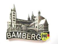 Bamberg Magnet Metall ,Souvenir Germany,Deutschland,Neu,silberfarben