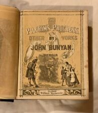 The Pilgrim's Progress and Other Works by John Bunyan circa. 1860's - Very Rare
