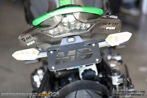 fit 2014-2016 Kawasaki Z1000 Fender Eliminator Kit w/ LED License Plate Light