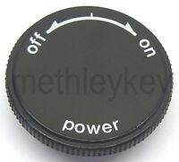 POWER ON / OFF KNOB ONLY FITS TECHNICS SL1200MK2 SL1210MK2 NEW SL1200 SL1210