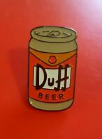 The Simpsons Pin Duff Beer Can Homer Enamel Metal Brooch Lapel Badge Adult Gift
