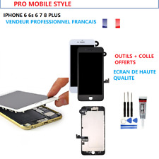 ECRAN COMPLET VITRE TACTILE LCD CHASSIS IPHONE 6 6S 7 8 PLUS + OUTILS COLLE
