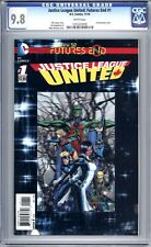 Justice League United: Futures End #1  CGC 9.8 (NM/M) 2014 - 3D Motion Cover