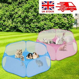 Pet Play Pen Portable Puppy Dog Cat Cage Durable Fabric Tent Baby Foldable New