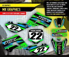 2000-2014 KX 65 GRAPHICS KIT KAWASAKI KX65 decal MOTOCROSS DIRT BIKE MX DECALS