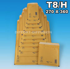LOT : 100 ENVELOPPES A BULLES/ENVELOPPE BULLE/ T8/8 (H)