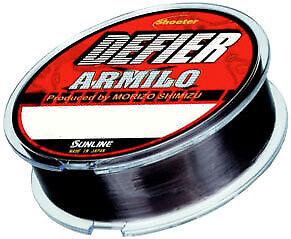 Sunline Shooter Defier Armilo Nylon Fishing Line 165yd. Spool Stealth Dark Grey