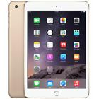 "Apple iPad Mini 3 16GB 64GB 128GB Wi-Fi Cellular LTE 7.9"" Gold Silver Space Gray"