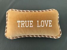 Inspirational Quote/Message/Saying Decorative Stuffed Pillow - Velvet
