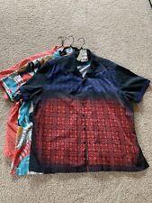 Robert Graham Short Sleeve Shirts (Lot Of 3), Size 3XL.