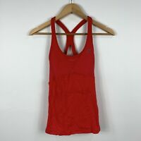Lorna Jane Womens Tank Top Size XS Red Good Condition