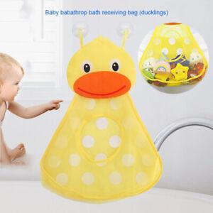 DE Baby Badespielzeug Mesh Tasche Netz Badewannespielzeug Saugnäpfe Aufbewahrung