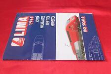 catalogo modellismo ferroviario LIMA 1997 H0 SCALE