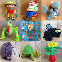 McDonalds Happy Meal Toy 2002 Bill Ben Weed Flower Pot Men Plastic Toys Various