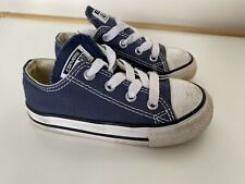 Converse kids toddler Size 7 Blue All Stars