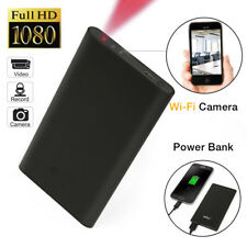 Wifi Spy Camera 1080P HD Hidden Video Motion Detection Power bank For Iphone IOS